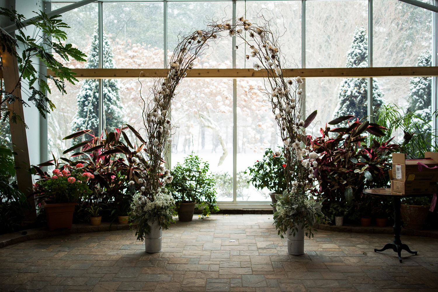 Photo: Atrium Wedding Venue
