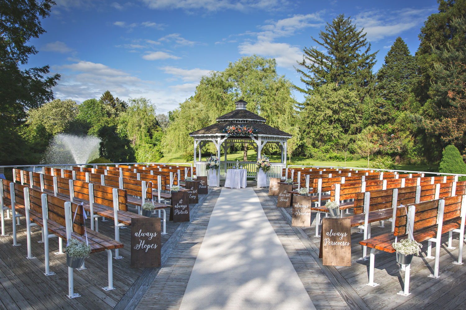 Photo: Gazebo Wedding Venue